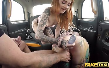 Depressed damsels are having a hideous twosome way with a taxi-cub driver, on the back in the final
